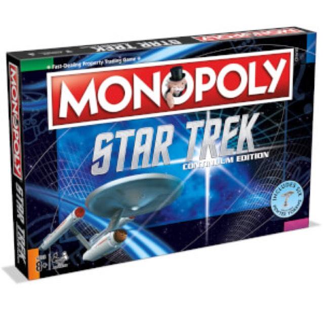 Monopoly Édition Star Trek Continuum ou Le Hobbit Un Voyage Inattendu (Anglais)
