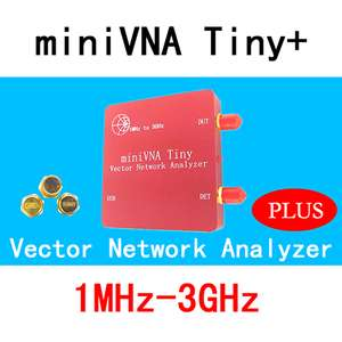 Analyseur de réseau vectoriel miniVNA Tiny 1M-3GHz