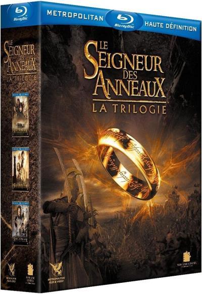 Coffret Blu-ray Le Seigneur des Anneaux - La trilogie