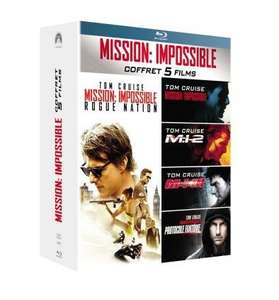 Coffret Blu-ray Mission impossible - 5 Films