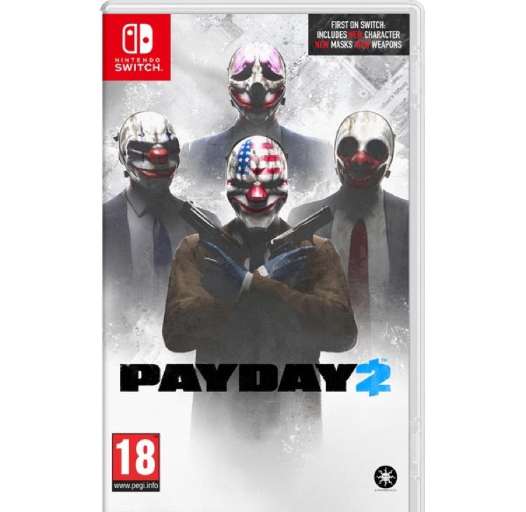 [Précommande] PayDay 2 sur Nintendo Switch