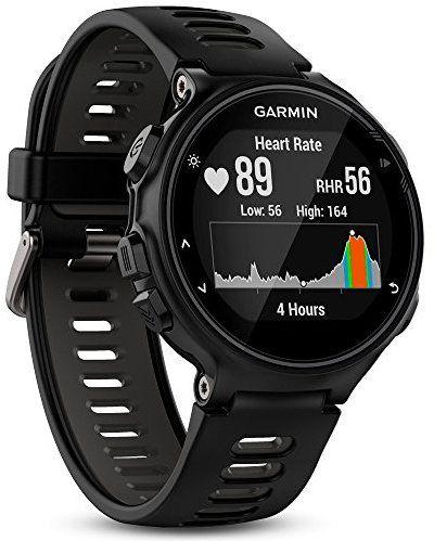 Montre GPS Multisports Garmin Forerunner 735XT avec Cardio Poignet - Noir