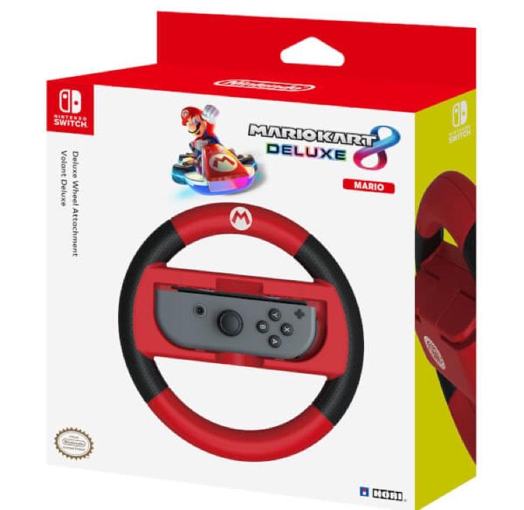 [Prime] Volant Hori Deluxe Mario Kart 8 pour Nintendo Switch - Version Mario