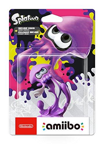 [Prime] Amiibo 'Collection Splatoon' - Calamar Inkling violet néon