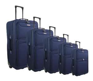 Valise 2 roues Polyester 40 cm