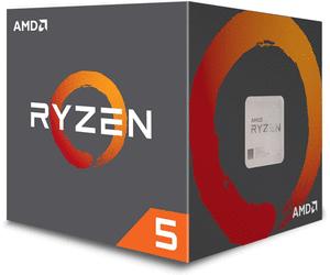 Processeur AMD Ryzen 5 1400 (socket AM4, 3.2 GHz) + ventilateur Wraith Spire (65 W)