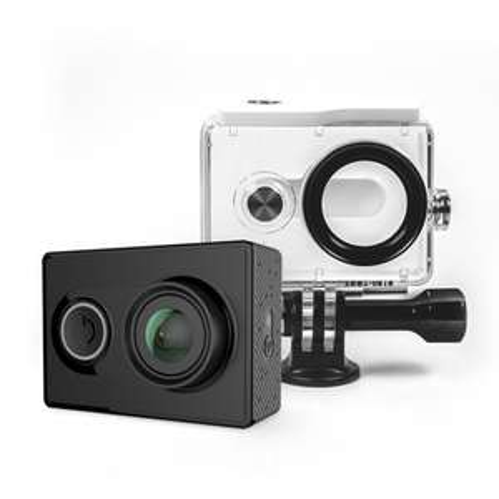 Caméra d'action Yi 2K (Version internationale) + 2 caissons étanche - Noir ou Blanc (vendeur tiers)