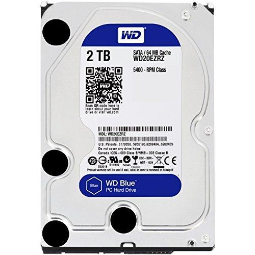 "[Prime] Disque Dur interne 3.5"" Western Digital Blue Desktop SATA - 2 To"