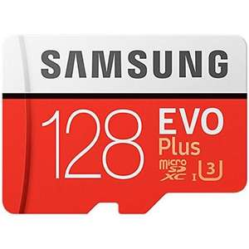 Carte microSDXC Samsung Evo Plus U3 - 128 Go, avec adaptateur SD