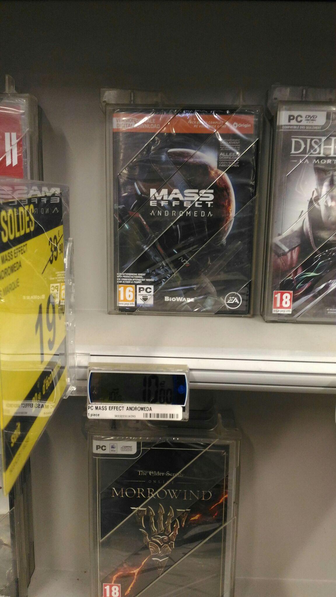 Mass Effect: Andromeda sur PC chez Carrefour La Beaujoire Nantes (44)