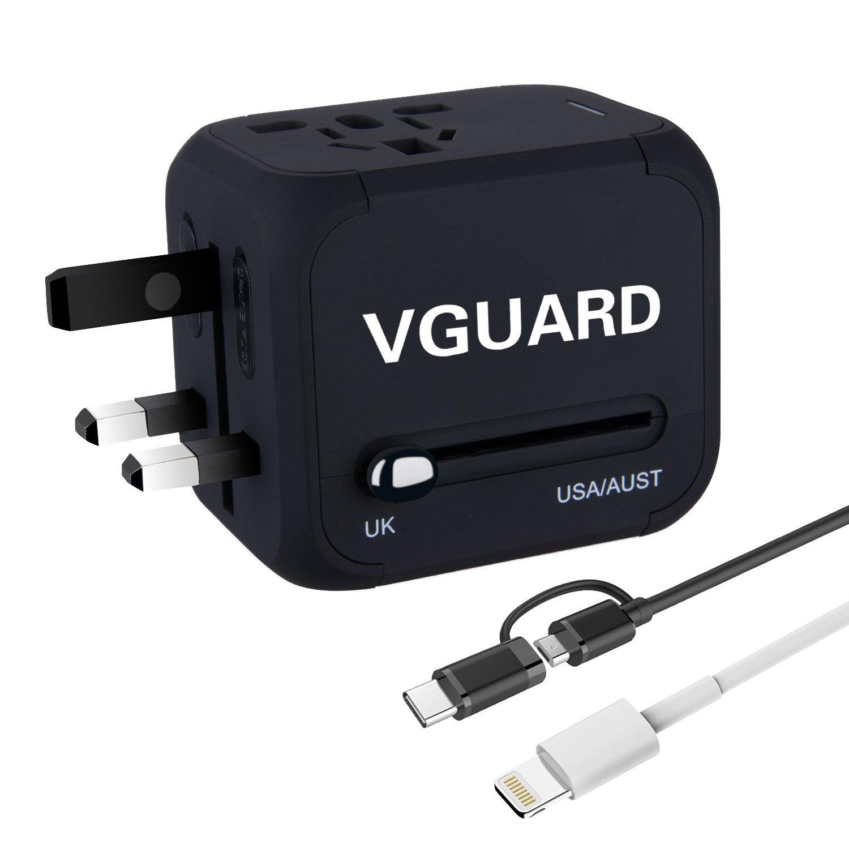 Adaptateur voyage universel iVoler + 2 cables usb (vendeur tiers)