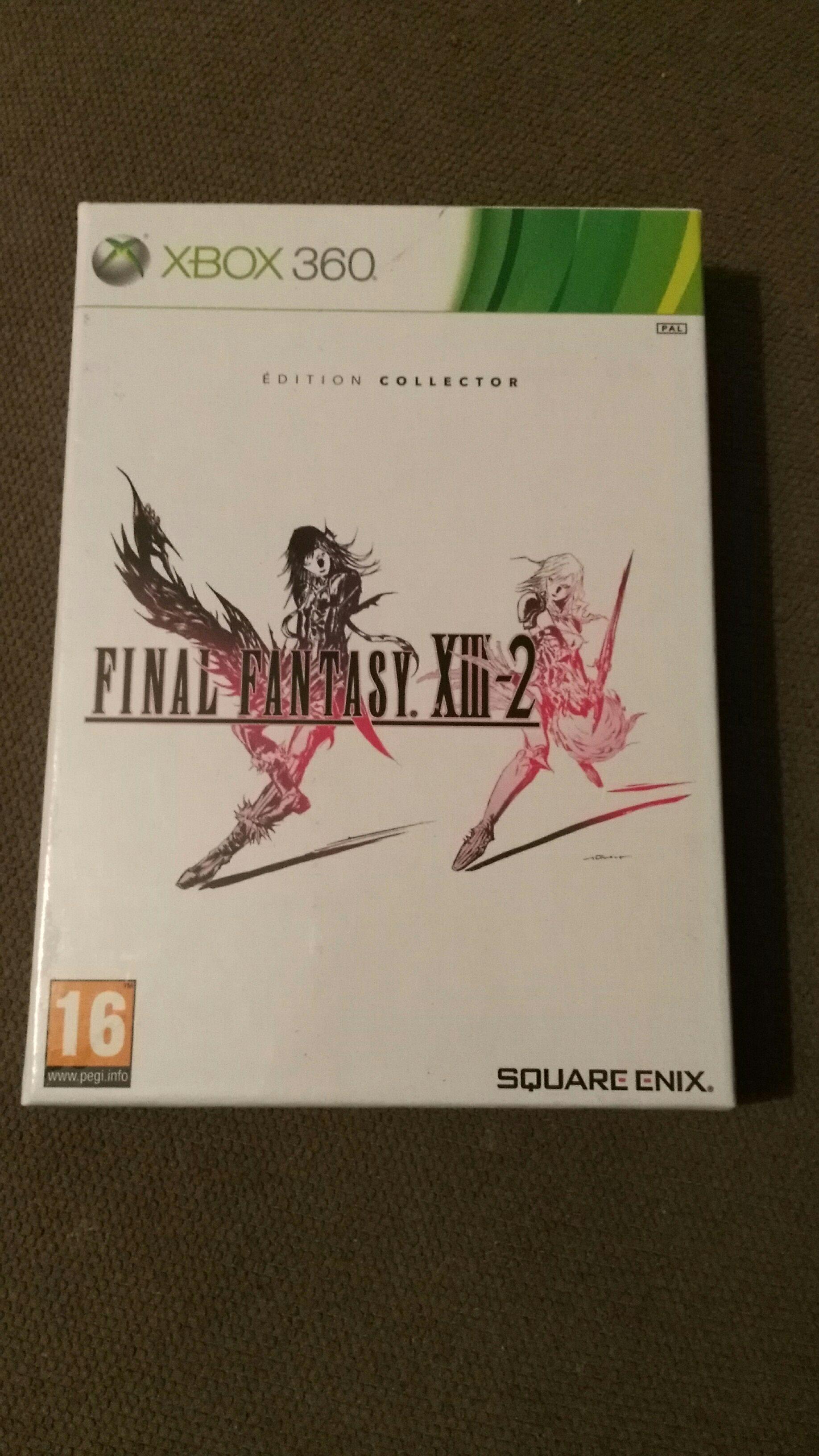Sélection de jeux vidéo en promotion - Ex : Final Fantasy XIII-2 édition collector sur Xbox 360 - Limoges (87)