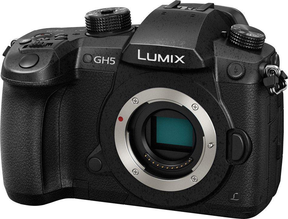 Panasonic Lumix GH5 Appareil Photo Hybride 6K/20.3 Mpx (Boitier Nu)