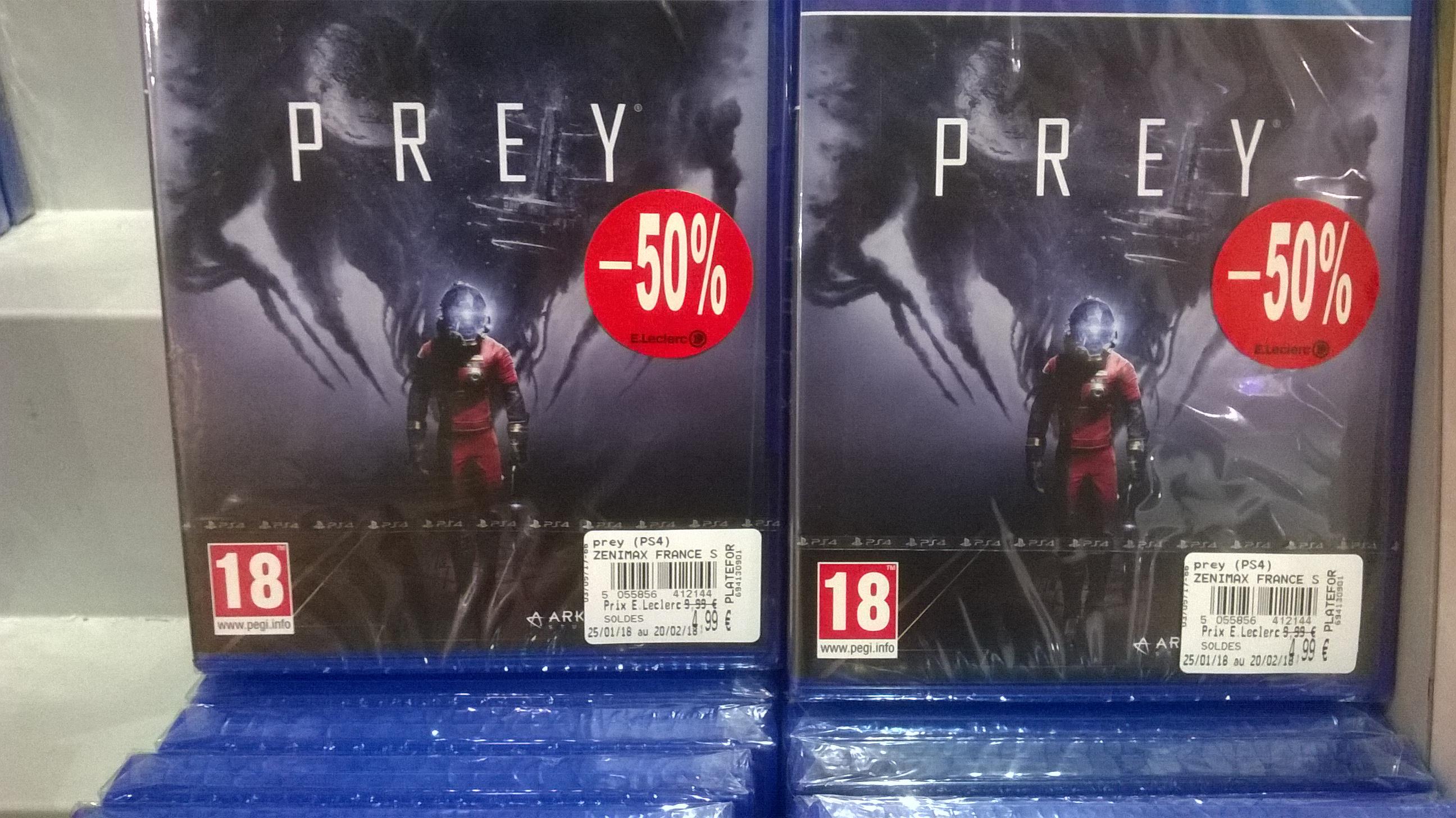 Prey sur PS4 - Olivet (45)