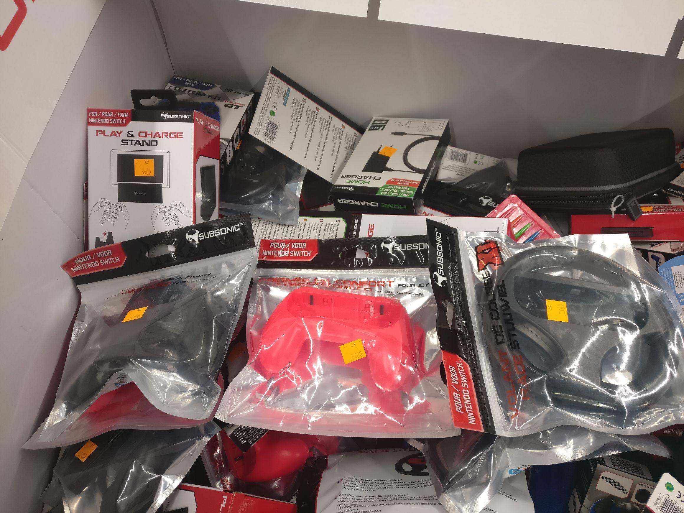 Accessoires pour Nintendo Switch - Rosny-sous-Bois (93)