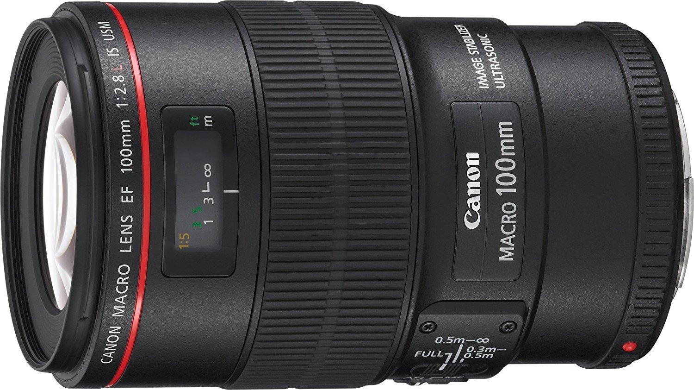 Objectif Canon EF 100 mm f/2,8 L Macro IS USM