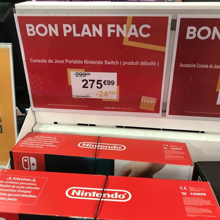 Console Nintendo Switch (Produit déballé) - Gennevilliers (92)
