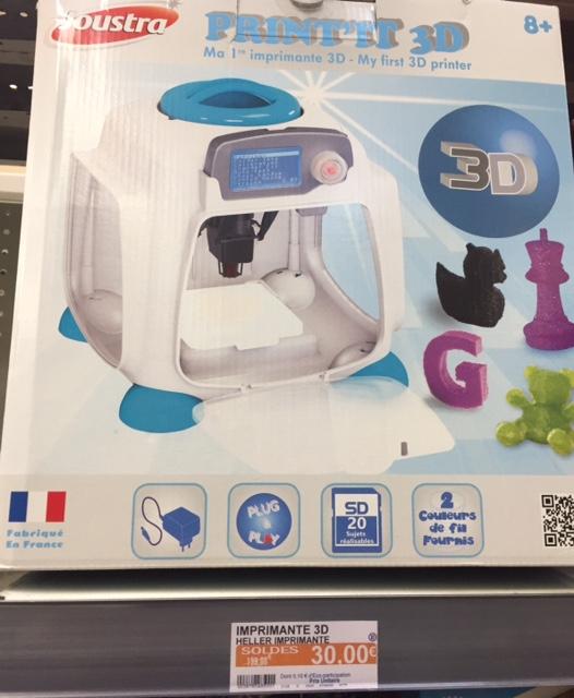 Imprimante 3D Joustra - Châteaudun (28)