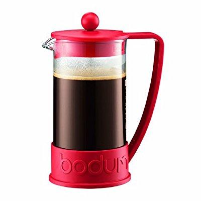 Cafetière Bodum Brazil rouge - But de Creteil Pompadour (94)