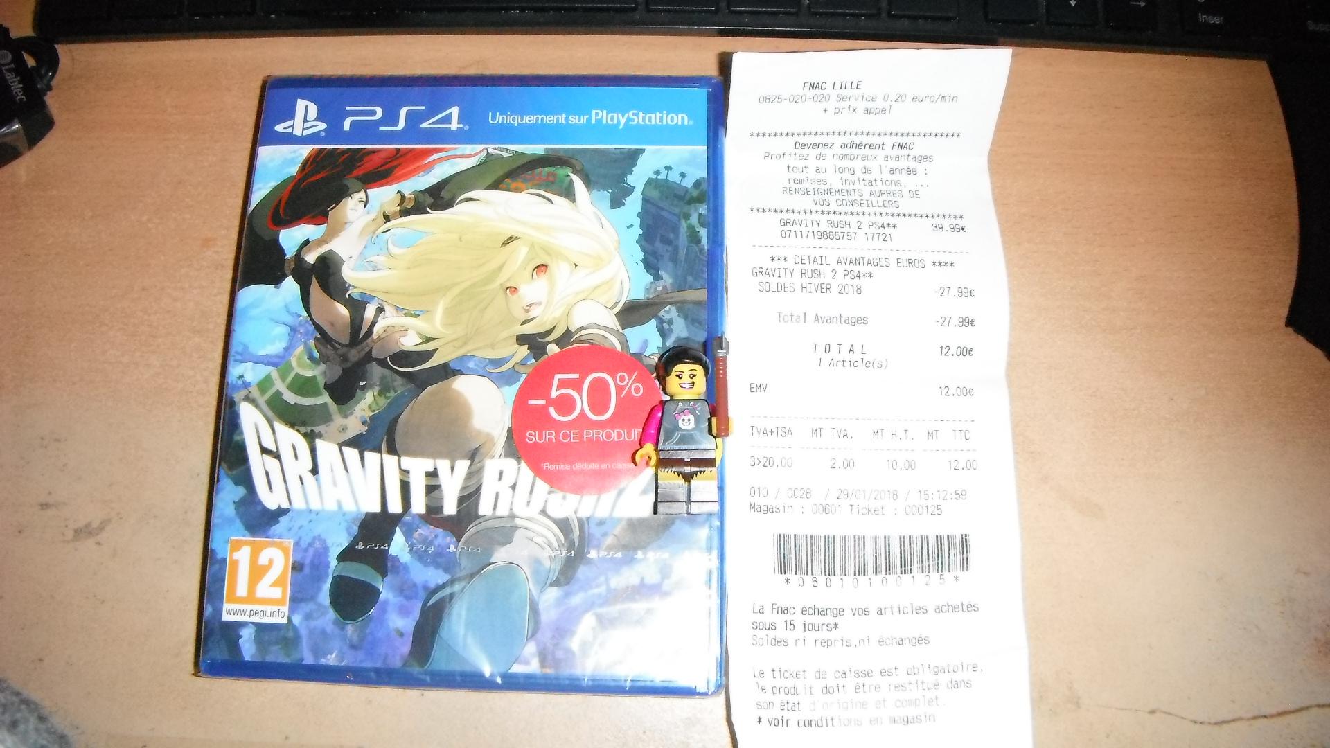 Jeu Gravity Rush 2 sur PS4 - Fnac Lille (59)