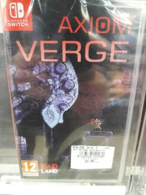 Jeu Axiom verge sur Nintendo Switch - Leclerc bollene (84)
