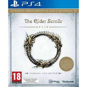 The Elder Scroll Online : Tamriel Unlimited sur PS4