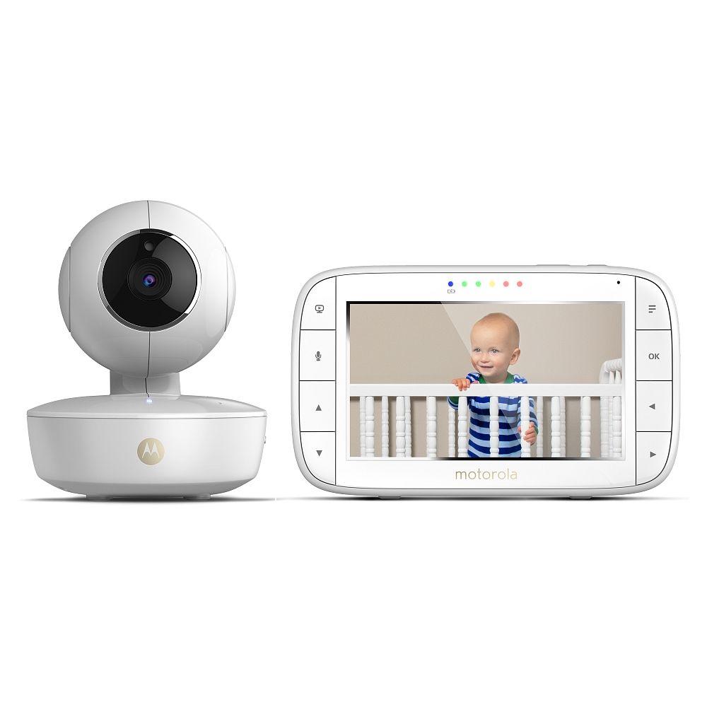 Écoute-Bébé Vidéo Motorola MBP 50 + Bon d'achat de 25€ à dépenser uniquement sur le site