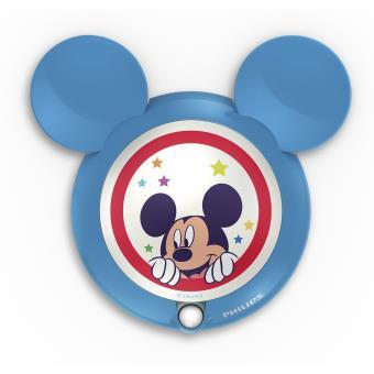 Veilleuse à detecteur de mouvement Philips Disney Mickey Mouse LED Bleu