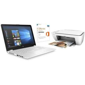 "[CDAV] PC Portable HP15bs113nf 15.6"" HD - RAM 4Go - Core i5-8250U - Intel HD 620 - Stockage 1To + HP DeskJet 2620 Tout-En-Un + Office 365"
