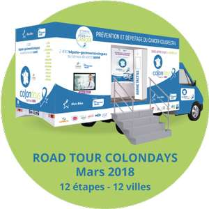 Dépistage gratuit du cancer du côlon - Colon Days 2018