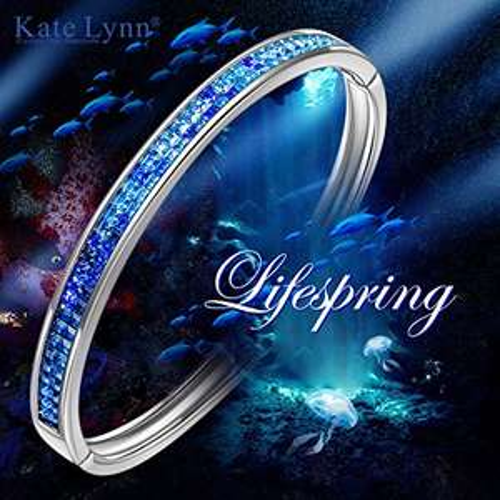"Bracelet Femme Kate Lynn Lifespring"" - Cristal de Swarovski Bleu (vendeur tiers)"