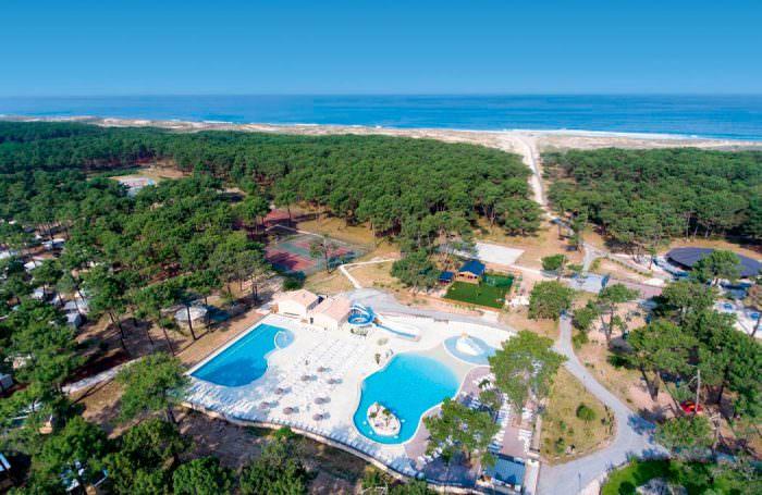 7 nuits du 2 au 9 juin dans un mobil home 5/6 personnes au camping Atlantic Club Montalivet - Vendays Montalivet