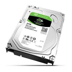 "Disque dur interne 3.5"" Seagate BarraCuda - 3 To (7200 tpm, 64 Mo)"