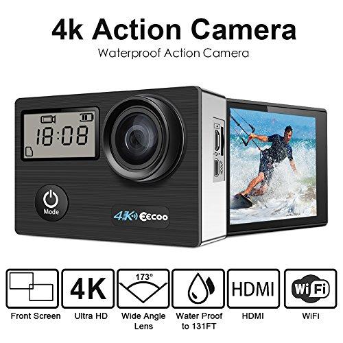 Camera d'Action Pro 4K/1080P WiFi Etanche 30M (vendeur tiers)