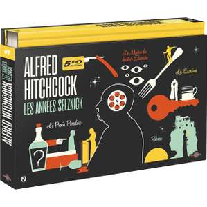 Coffret Blu-ray Alfred Hitchcock - Les Années Selznick