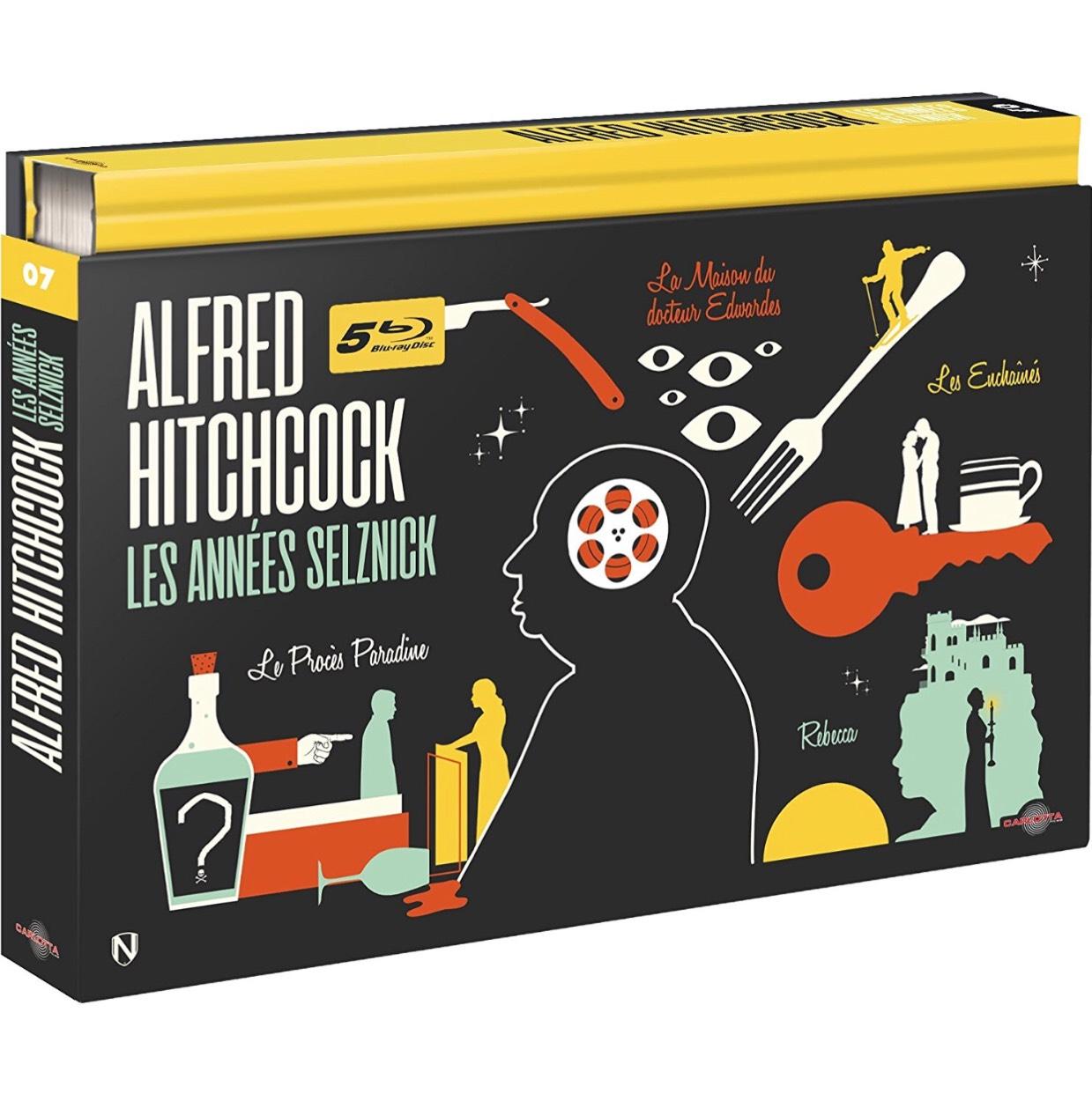 Coffret Blu-ray Alfred Hitchcock - Les Années Selznick