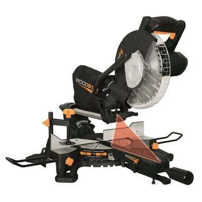 Scie à onglet radiale WoodStar - 1500 W