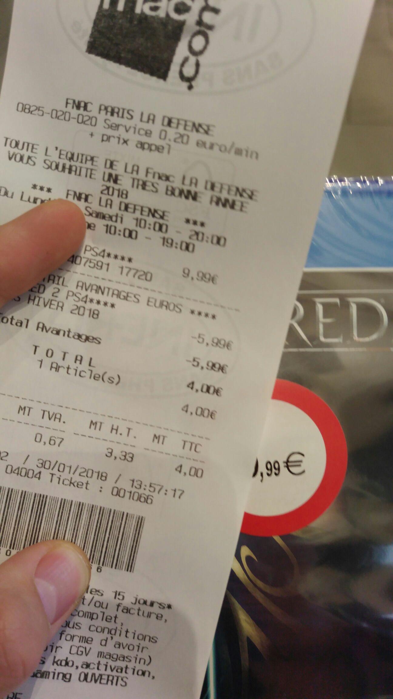 Dishonored 2 sur PS4 - La Défense (92)
