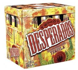 Pack de 12 bouteilles de bière Desperados  - 33 cl (via 5€ sur la carte)