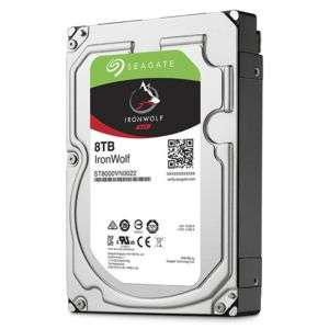 "Disque dur interne 3,5"" Seagate IronWolf - 8 To NAS"
