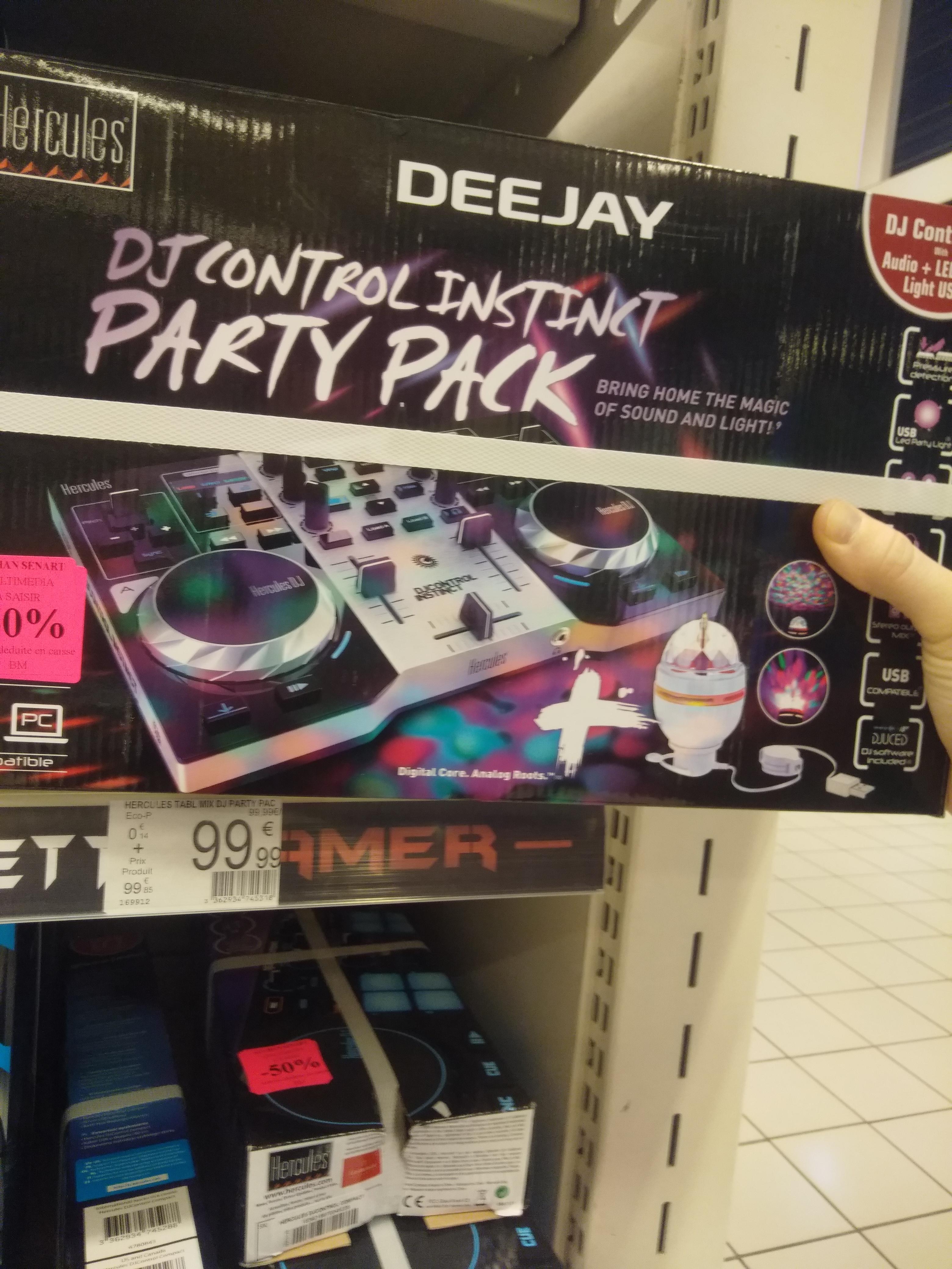 DJ Control différents modèles : Instinct Party Pack - Melun (77)