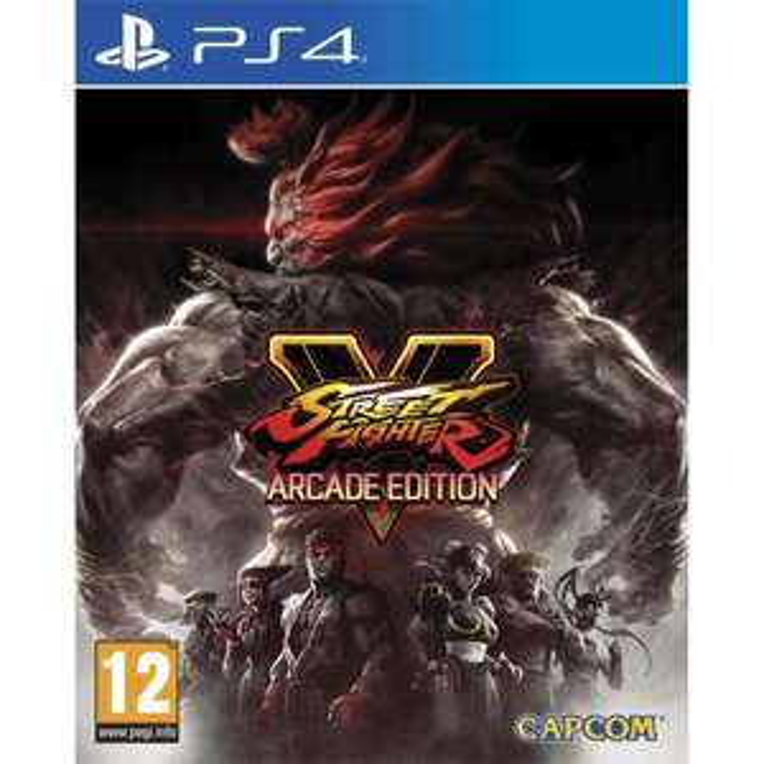 Street Fighter V Arcade Edition sur PS4