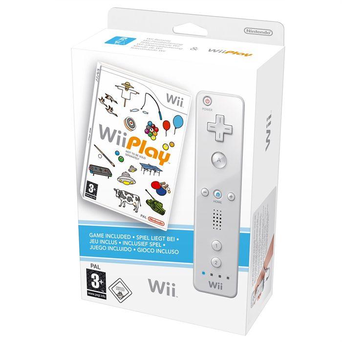 Sélection d'accessoires et jeux Nintendo Wii à 0.5€ - Ex : pack contrôleur WiiMote + Wii Play au Carrefour Saint-Brice-sous-Forêt (95)