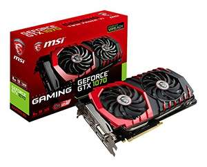 Expiré Carte Graphique MSI GeForce GTX 1070 Gaming 8G
