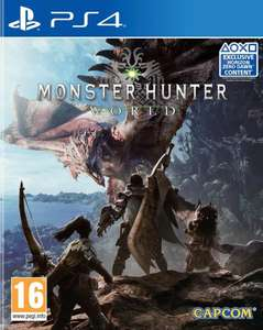 Jeu Monster Hunter World sur PS4