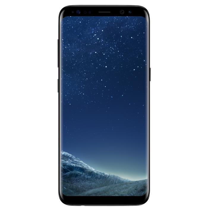 """Smartphone 5.8"""" Samsung Galaxy S8 Noir Carbone - 64 Go (via ODR 100€)"""