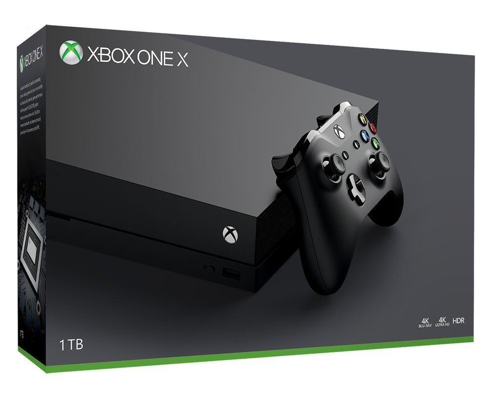 Console Microsoft Xbox One X (1 To)