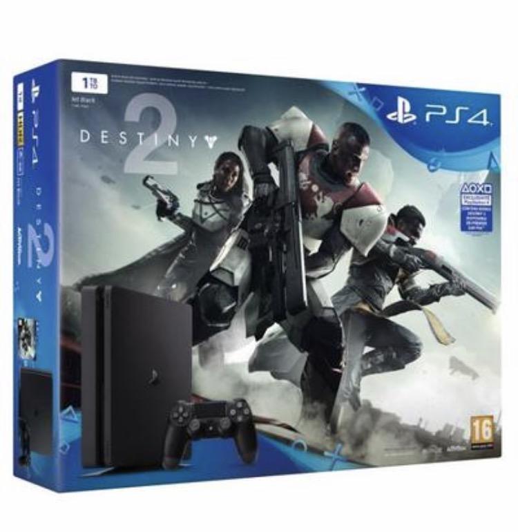 Pack Console Sony PS4 Slim 1To + Destiny + Crash Bandicoot