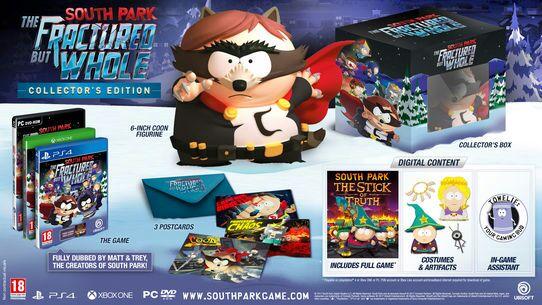 South Park : l'Annale du Destin Édition Collector sur PS4/Xbox One à 44,99€ et sur PC à 40.49€