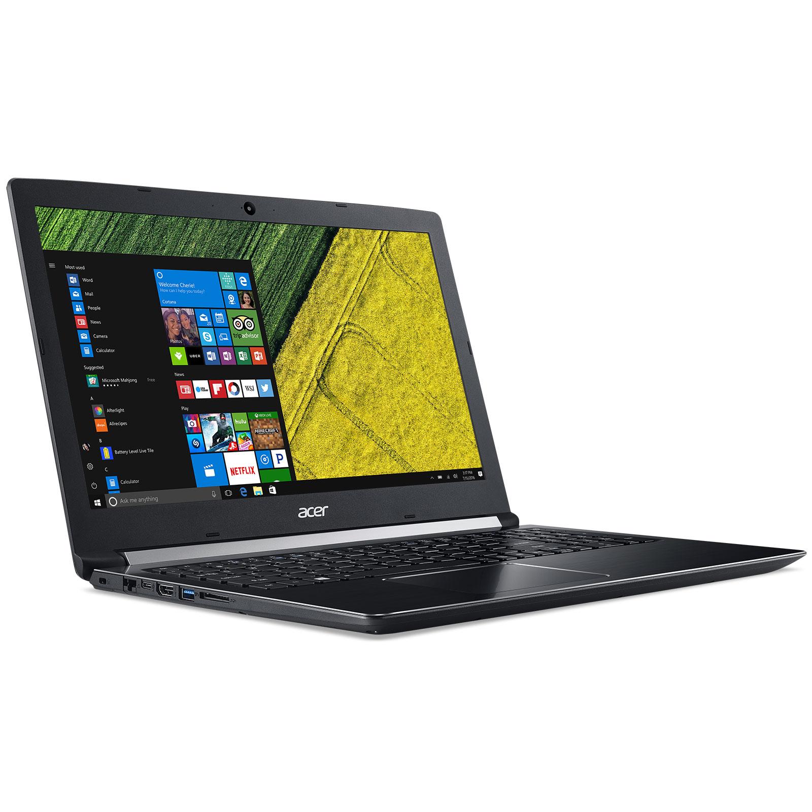 "Pc portable 15,6"" ACER Aspire 5 A515-51-34LE - Full HD IPS, i3-6006U, RAM 4 Go, SSD 256 Go, Windows 10"